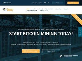 Genesis Mining coupons