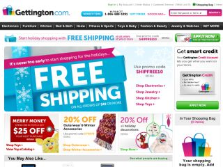 Gettington Credit Application coupons