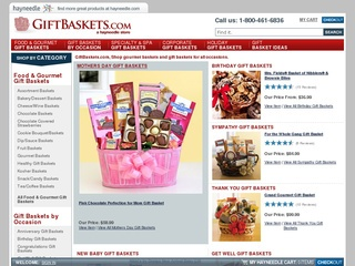 GiftBaskets.com coupons