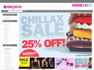 Gojane.com coupons