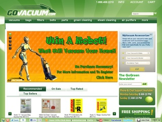 GoVacuum coupons