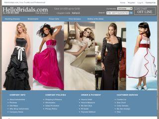 HelloBridals.com coupons