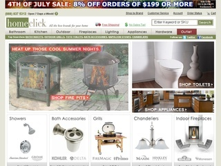 Home Click coupons