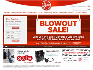 Hoover and Dirt Devil coupons