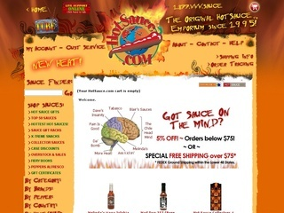 Hot sauce coupons