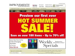 Home Improvements Catalog Coupon Code