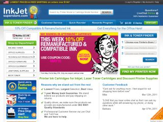 Inkjet Superstore coupons