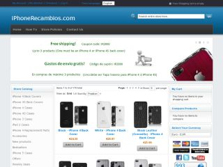 iPhoneRecambios.com coupons