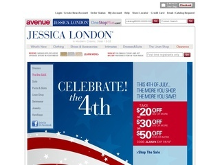 How to use a Jessica London coupon When Jessica London has a sale event (often), you will find all the details and coupon codes directly on the homepage in an easy to see location. Additionally, they will send you another promo code good for 40% off your next order when you sign up for the Jessica London email list%(36).