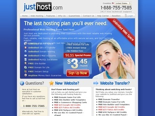JustHost coupons