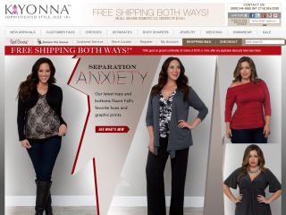 Kiyonna Clothing coupons