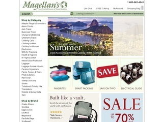 Over 20 years later, Magellan's has grown into a prominent one-stop-shop for functional and distinctive travel supplies, backed by their expertise and highly trained specialists. Magellan's online coupons will assist further, by saving you money.