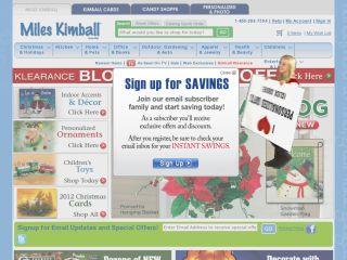 Miles Kimball Company coupons