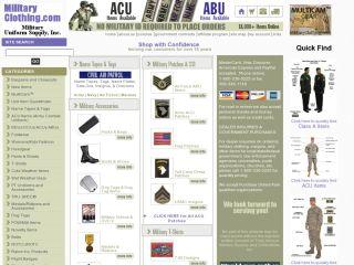 MilitaryClothing.com coupons