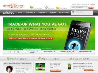 Cricket Coupons Cricket Wireless is a leader and pioneering cell phone provider, offering affordable wireless plans with unlimited minutes and no signed contract. Save even more on your cellular plan with a critics-lucky.ml coupon.4/5(3).