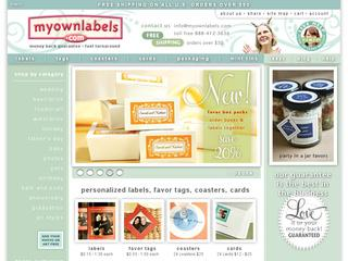 My Own Labels coupons