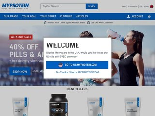 MyProtein.com coupons