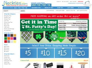 Neckties.com coupons