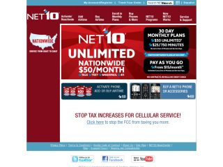 Net 10 Wireless coupons