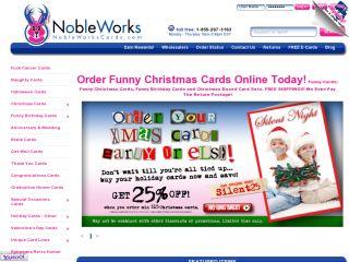 Nobleworkscards.com coupons