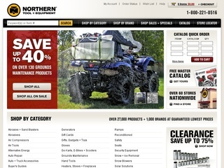 Northern tool discount coupon