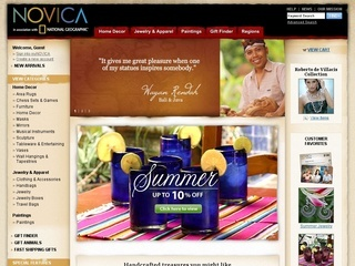 Novica coupons
