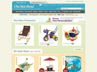 For One Step Ahead we currently have 4 coupons and 0 deals. Our users can save with our coupons on average about $ Todays best offer is 20% off at One Step Ahead. If you can't find a coupon or a deal for you product then sign up for alerts and you will get updates on every new coupon added for One Step Ahead.