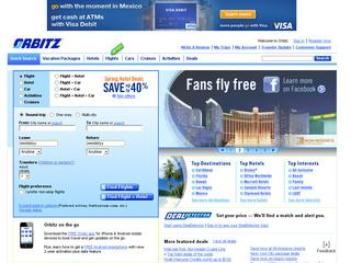 Orbitz.com coupon code