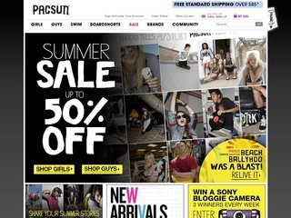 Pac Sun coupons