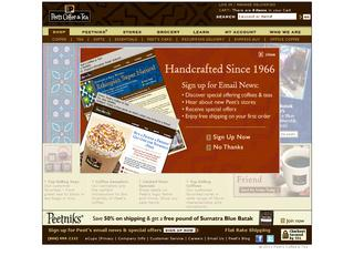 Peets Coffee coupons