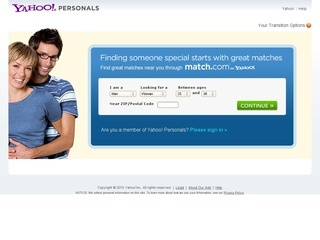 Yahoo! Personals coupons