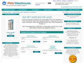 Pets Warehouse coupons