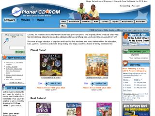 PlanetCDROM.com coupons