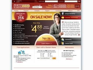 Powweb coupons