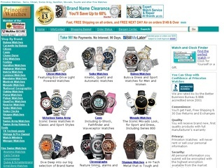 Princeton Watches coupons
