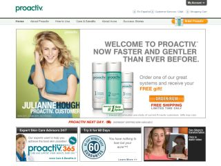 Perfect for all skin types, Proactiv has your back with all-over acne solutions.
