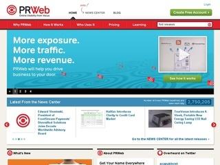 PR Web coupons