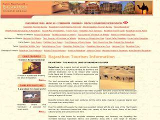 Rajasthan Tourism Bureau coupons