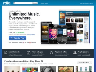 Rdio coupons