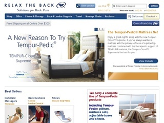 Relax The Back coupons