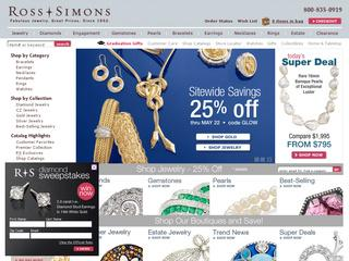 Discover the beautiful world of fine jewelry, outstanding quality and unbeatable prices that awaits you at Ross-Simons. Immerse yourself in a treasure trove of dazzling gold, diamond, sapphire and gemstone jewelry, all glimmering in a rainbow of colors and styles.