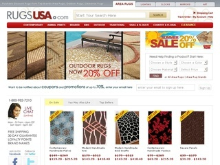 About Rugs USA. Rugs USA is a one-stop shop for any kind of rug like traditional rugs, contemporary rugs, outdoor rugs and rugs just for kids. Their online store, coolninjagames.ga, has a wide selection of styles such as southwestern, country and floral patterns, solid and striped looks and even animal prints.