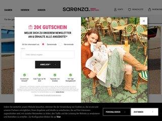sarenza coupon code