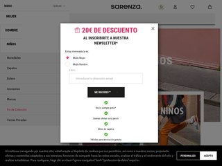sarenza coupon code