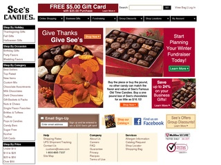 Sees Candies coupons