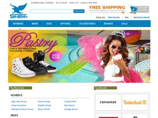 ShiekhShoes.com coupons