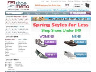 Shoe Metro coupons