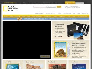 National Geographic Store coupons