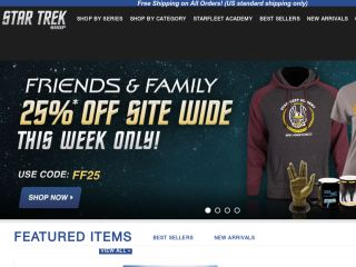 Star Trek Shop coupons