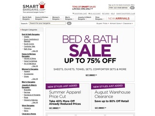 Smart Bargains coupons